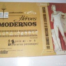 Tebeos: HEROES MODERNOS SERIE C 5 (DE 15):VARIOS PERSONAJES.EDITORIAL DOLAR,AÑO 1970. Lote 287647608