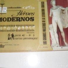 Tebeos: HEROES MODERNOS SERIE C 3 (DE 15):VARIOS PERSONAJES.EDITORIAL DOLAR,AÑO 1970. Lote 287647768