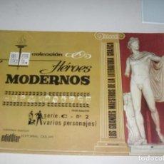Tebeos: HEROES MODERNOS SERIE C 2 (DE 15):VARIOS PERSONAJES.EDITORIAL DOLAR,AÑO 1970. Lote 287647863