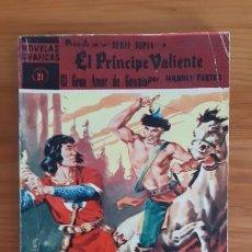 Tebeos: COMICS. EDITORIAL DOLAR. NOVELAS GRAFICAS. EL PRINCIPE VALIENTE Nº21. Lote 287676623