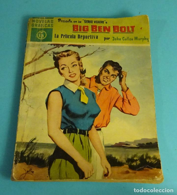 LA PELÍCULA DEPORTIVA. JOHN CULLEN MURPHY. COLECC. BIG BEN BOLT Nº13. EDITORIAL DOLAR 1959 (Tebeos y Comics - Dólar)