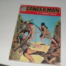 Tebeos: DANGER-MAN 8.EDITORIAL DOLAR,AÑOS 60.. Lote 287826413