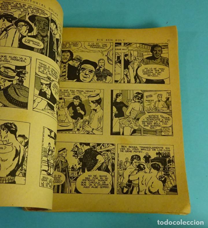 Tebeos: LA PELÍCULA DEPORTIVA. JOHN CULLEN MURPHY. COLECC. BIG BEN BOLT Nº13. EDITORIAL DOLAR 1959 - Foto 2 - 287820478