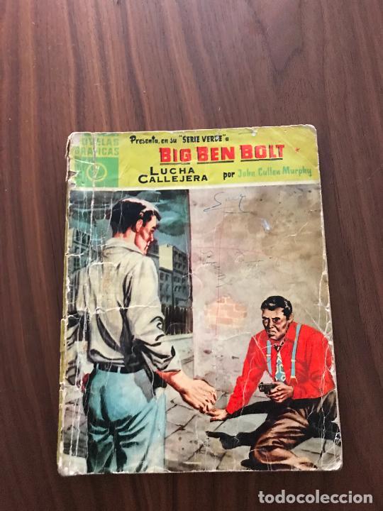 BIG BEN BOLT Nº 7, SERIE VERDE, NOVELAS GRÁFICAS, EDITORIAL DÓLAR (Tebeos y Comics - Dólar)