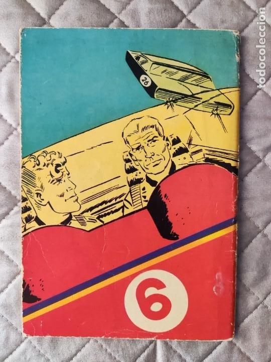 Tebeos: HEROES MODERNOS Nº 15 II EPOCA BRICK BRADFORD EDITORIAL DOLAR - Foto 2 - 288351948