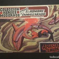Tebeos: COMIC EDITORIAL DOLAR COLECCIÓN HÉROES MODERNOS EL HOMBRE ENMASCARADO APUESTA TEMERARIA 13. Lote 288356248