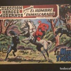 Tebeos: COMIC EDITORIAL DOLAR COLECCIÓN HÉROES MODERNOS EL HOMBRE ENMASCARADO LA MUJER TIGRE 12. Lote 288356608