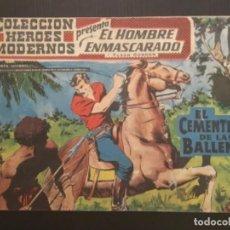 Tebeos: COMIC EDITORIAL DOLAR COLECCIÓN HÉROES MODERNOS EL HOMBRE ENMASCARADO EL CEMENTERIO LAS BALLENAS 4. Lote 288357048