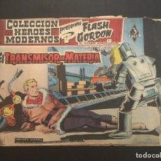 Tebeos: COMIC EDITORIAL DOLAR COLECCIÓN HÉROES MODERNOS FLASH GORDON EL TRANSMISOR DE MATERIA 62. Lote 288357738