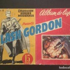 Tebeos: COMIC EDITORIAL DOLAR COLECCIÓN HÉROES MODERNOS FLASH GORDON ÁLBUM LUJO NÚMERO 8. Lote 288358203