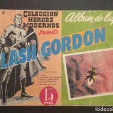 Tebeos: COMIC EDITORIAL DOLAR COLECCIÓN HÉROES MODERNOS FLASH GORDON ÁLBUM LUJO NÚMERO 2. Lote 288358478