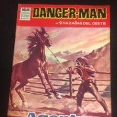 Tebeos: DANGER-MAN Nº9 HAZAÑAS DEL OESTE, EDITORIAL DÓLAR. Lote 288566513
