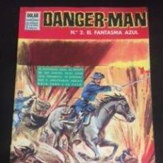 Tebeos: DANGER-MAN Nº2 EL FANTASMA AZUL, EDITORIAL DÓLAR. Lote 288568183