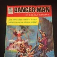 Tebeos: DANGER-MAN Nº3 LA ISLA MISTERIOSA, EDITORIAL DÓLAR. Lote 288568293