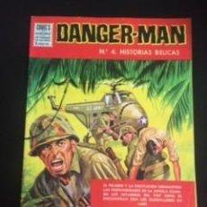 Tebeos: DANGER-MAN Nº4 HISTORIAS BÉLICAS, EDITORIAL DÓLAR. Lote 288568398