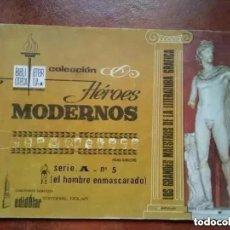 Tebeos: EL HOMBRE ENMASCARADO. HEROES MODERNOS. SERIE A. NUM 5. Lote 289746938