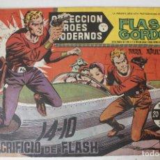Tebeos: HEROES MODERNOS, FLAS GORDON EDITORIAL DOLAR SERIE B, NÚMERO 21. Lote 293880113