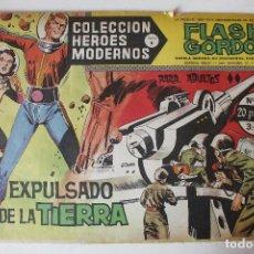 Tebeos: HEROES MODERNOS, FLAS GORDON EDITORIAL DOLAR SERIE B, NÚMERO 34. Lote 293881208
