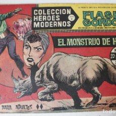 Tebeos: HEROES MODERNOS, FLAS GORDON EDITORIAL DOLAR SERIE B, NÚMERO 20. Lote 293878733