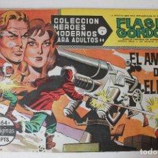 Tebeos: HEROES MODERNOS, FLAS GORDON EDITORIAL DOLAR SERIE B, NÚMERO 64. Lote 293882363
