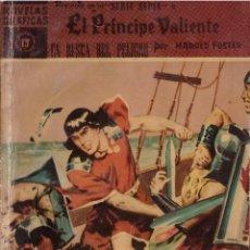 Tebeos: NOVELAS GRAFICAS Nº 15 SERIE SEPIA: EL PRINCIPE VALIENTE EN BUSCA DEL PELIGRO; EDITORIAL DOLAR 1960. Lote 293981878