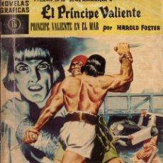 Tebeos: NOVELAS GRAFICAS, Nº 16, SERIE AMARILLA: EL PRINCIPE VALIENTE EN EL MAR; EDITORIAL DOLAR, AÑO 1960. Lote 293981888