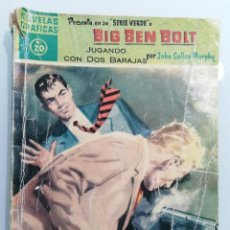 Tebeos: BIG BEN BOLT, Nº 20, NOVELAS GRAFICAS, SERIE VERDE, EDITORIAL DOLAR, AÑO 1959. Lote 294074588
