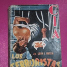 Tebeos: COLECCION CIA 7 DOLAR LOS TERRORIATAS JOHN L MARTIN. Lote 295724488