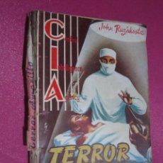 Tebeos: COLECCION CIA DOLAR 34 TERROR AMARILLO JOHN RUZAKOSTA. Lote 295727158