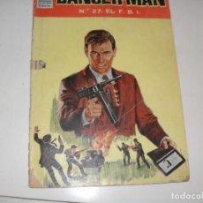 Tebeos: DANGER-MAN 27:EL FBI.EDICIONES DOLAR,AÑO 1964.RARO TEBEO.. Lote 296780948