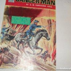 Tebeos: DANGER-MAN 2:EL FANTASMA AZUL.EDICIONES DOLAR,AÑO 1964.RARO TEBEO.. Lote 296781063