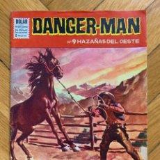 Tebeos: DANGER MAN Nº 9: HAZAÑAS DEL OESTE. Lote 296798543