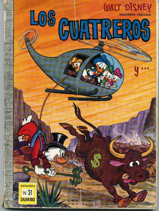 COLECCION DUMBO Nº 31 - LOS CUATREROS (Tebeos y Comics - Ersa)