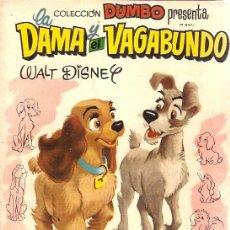 Tebeos: COMIC DUMBO LA DAMA Y EL VAGABUNDO. Lote 8485632