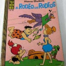 Livros de Banda Desenhada: TELE HISTORIETA HANNA BARBERA Nº 74 AL RODEO SIN RODEOS... ED RECREATIVAS 1975. Lote 10133021