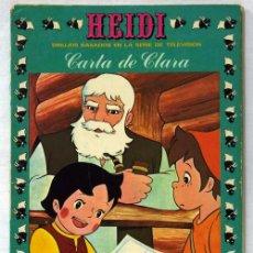 Tebeos: HEIDI Nº 10 EDICIONES RECREATIVAS ERSA 1976 CARTA DE CLARA. Lote 10408879