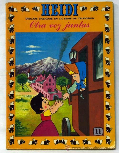 HEIDI Nº 11 EDICIONES RECREATIVAS ERSA 1976 OTRA VEZ JUNTAS (Tebeos y Comics - Ersa)
