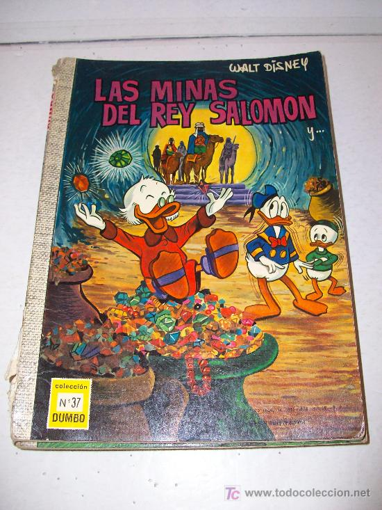 EDICIONES RECREATIVAS: DUMBO (80 PÁGINAS) Nº 37 (1.968) (Tebeos y Comics - Ersa)