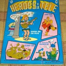 Tebeos: HÉROES DE LA TELE Nº 36. ERSA 1983. 125 PTS. . SCOOBY DOO, HONG KONG FUY.... Lote 28993081