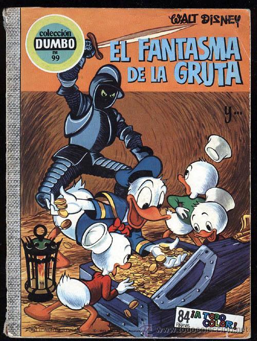 DUMBO Nº 99 DE E.R.S.A. , EL FANTASMA DE LA GRUTA , 1973 , PRIMERA EDICION (Tebeos y Comics - Ersa)
