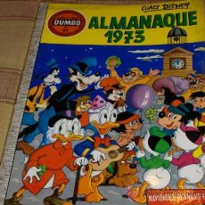Tebeos: DUMBO Nº 95. ERSA 40 PTS. WALT DISNEY. ALMANAQUE 1973. MUY DIFÍCIL!!!!. Lote 15252771