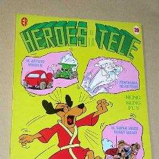 Tebeos: HÉROES DE LA TELE Nº 39. EDICIONES RECREATIVAS 1983. HANNA BARBERA. HOG KONG FUY, BUGGY, WHEELIE. ++. Lote 25943175