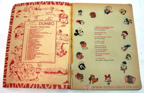 Tebeos: Dumbo Walt Disney Nº 2 Gilito de Arabia Ediciones Recreativas 1970 - Foto 2 - 17317052