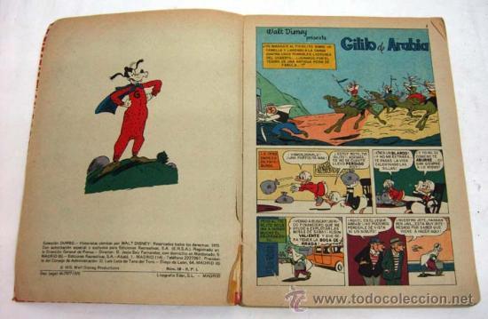 Tebeos: Dumbo Walt Disney Nº 2 Gilito de Arabia Ediciones Recreativas 1970 - Foto 3 - 17317052