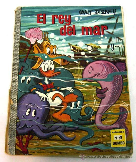 DUMBO WALT DISNEY Nº 69 EL REY DEL MAR EDICIONES RECREATIVAS 1970 (Tebeos y Comics - Ersa)