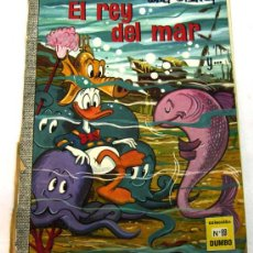 Tebeos: DUMBO WALT DISNEY Nº 69 EL REY DEL MAR EDICIONES RECREATIVAS 1970. Lote 17317321
