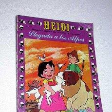 Tebeos: HEIDI Nº 1. LLEGADA A LOS ALPES. EDICIONES RECREATIVAS 1975. CÓMIC BASADO EN SERIE ANIMACIÓN TV.. Lote 23774635