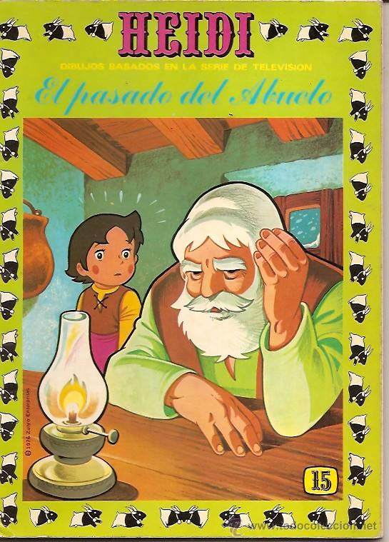 HEIDI Nº 15 E.R.S.A 1976 (Tebeos y Comics - Ersa)