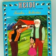 Tebeos: HEIDI Nº 4 EDICIONES RECREATIVAS ERSA 1976 TRISTES NOTICIAS. Lote 22347818