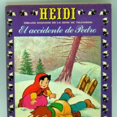 Tebeos: HEIDI Nº 14 EDICIONES RECREATIVAS ERSA 1976 EL ACCIDENTE DE PEDRO. Lote 22347917